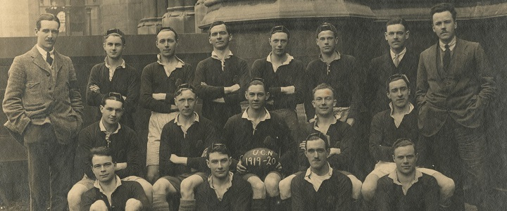 1919-20 UoN Rugby Team