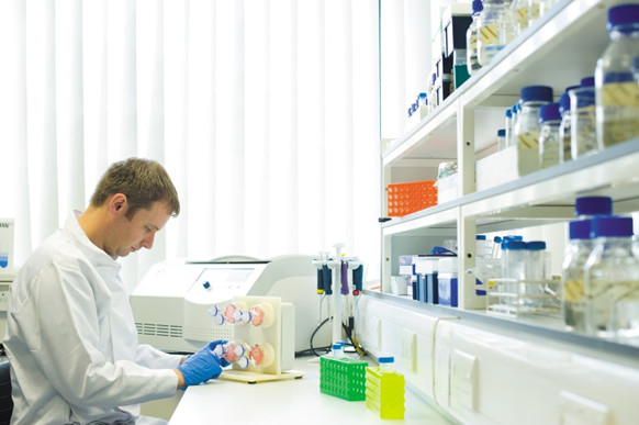 A researcher working at the University of Nottingham