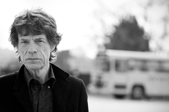 Photo of Mick Jagger by Adam Jacobs