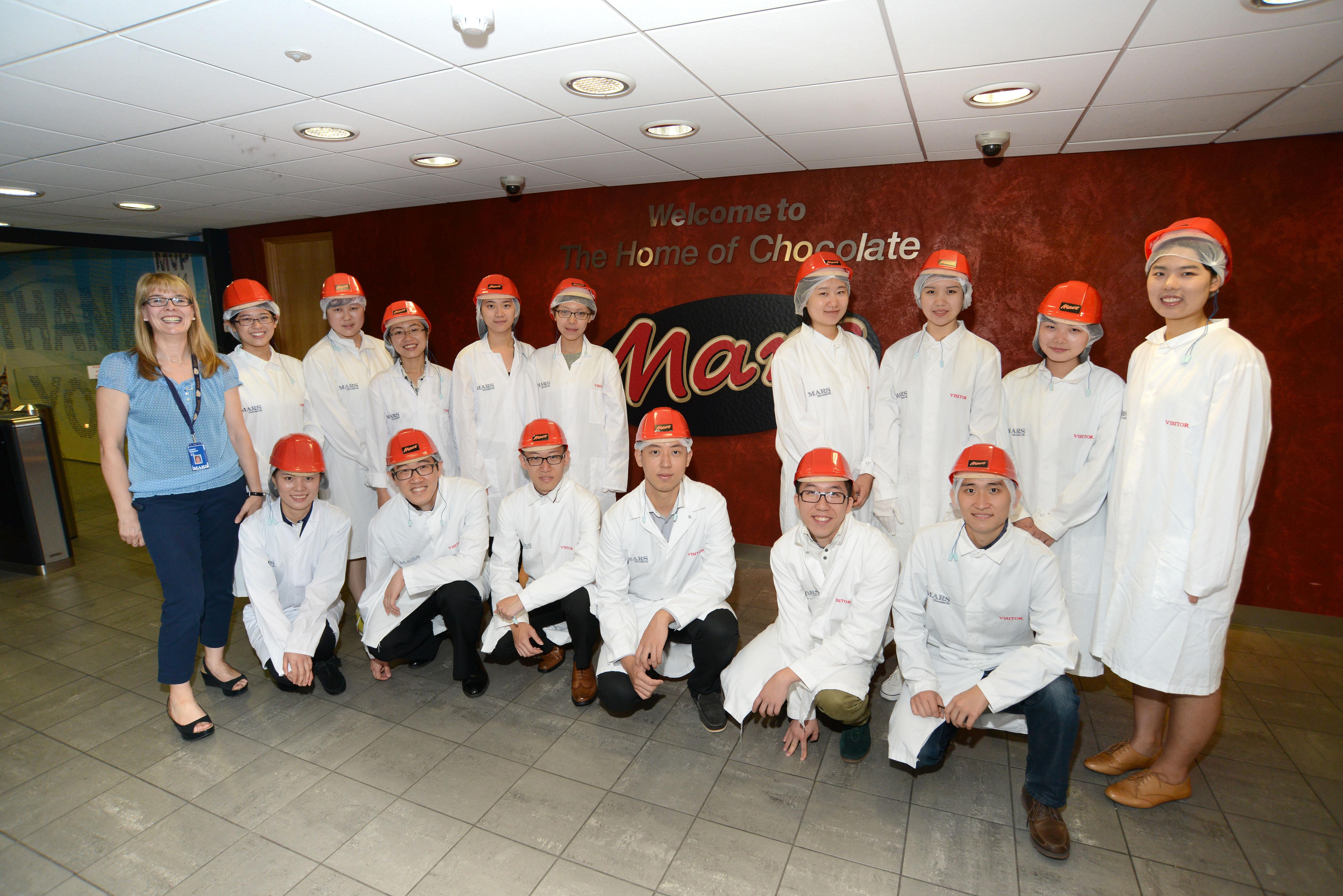 Mars Chocolate Factory Tour Slough