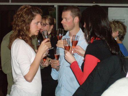 Alumni drinking