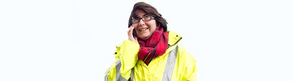 Female work placement graduate - Ellie Cohen