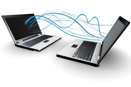 Image of two laptops