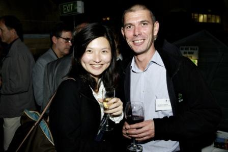 Guests at the Sydney Alumni reception